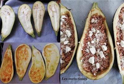 Aubergines végétariennes par Les Mets Tissés, Ma Coach Ma Diet