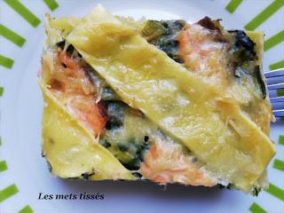 recette lasagnes ma coach ma diet/ les mets tissés
