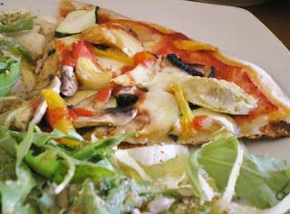 pizza par Les Mets Tissés, sur Ma Coach Ma Diet
