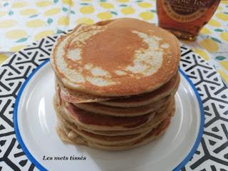 Pancakes faciles à la compote