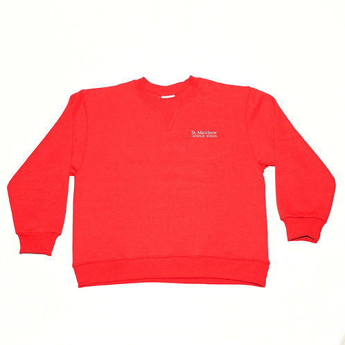 Crew-Neck Sweatshirt St. Matthew With Text Logo