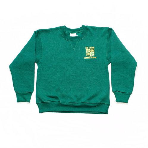 Green Sweatshirt (St. Luke)
