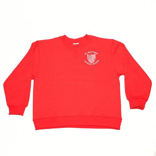 Crew-Neck Sweatshirt St. Matthew with Crest Logo