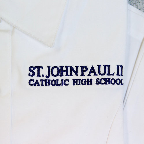 3/4 Sleeve Over Blouse (St. JPII) (Juniors)