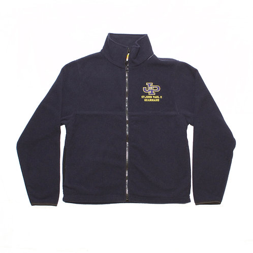 Navy Fleece Jacket Full Zip (St. JPII)
