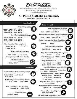 St PIUS price list 2019-2020.jpg