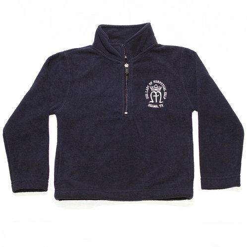 Navy Fleece Pullover Jacket (OLPH)