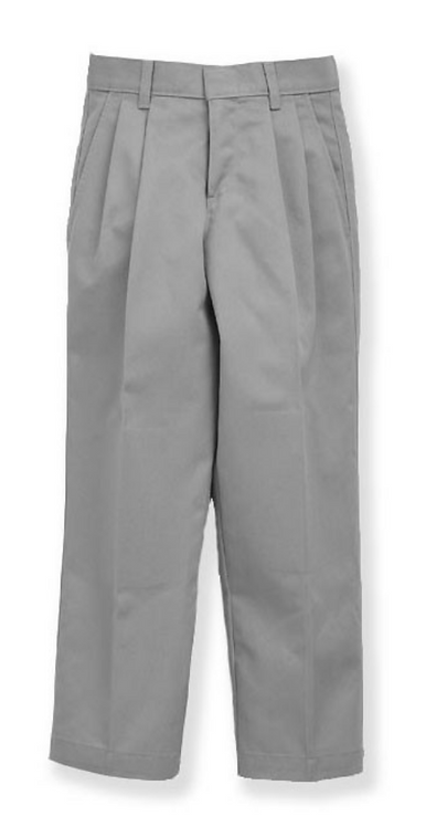 Grey Pleated Pants (Adult)