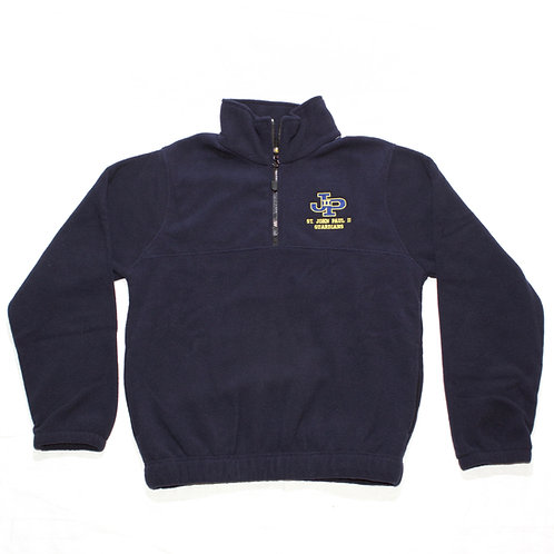 Navy Fleece Jacket 1/4 Zip Pullover (St. JPII)