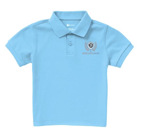 Baby Blue Boys Polo Shirt