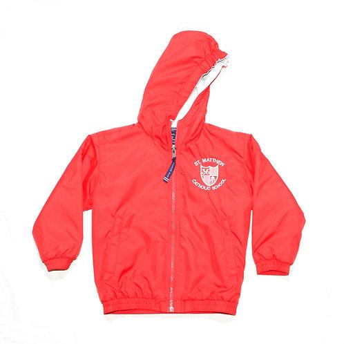 Red Charles River Jacket (St. Matthew)