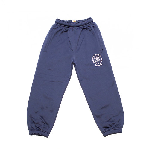 Navy Dry-Fit Sweatpants