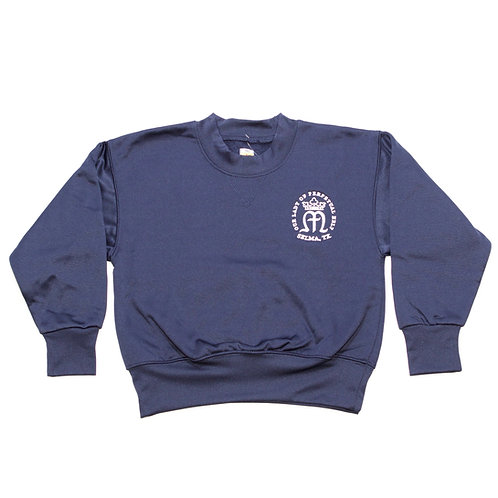 Navy Dry-Fit Sweatshirt (OLPH)
