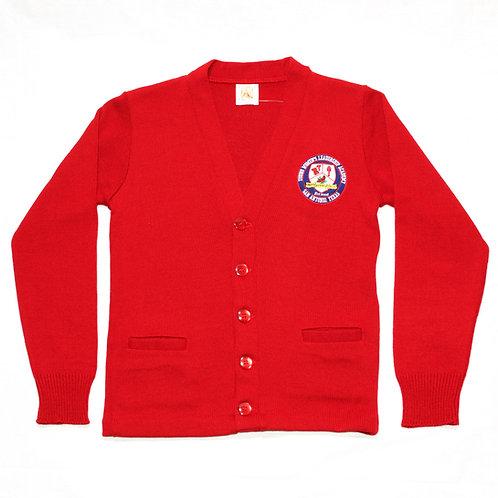 Red Cardigan Sweater (YWLA)