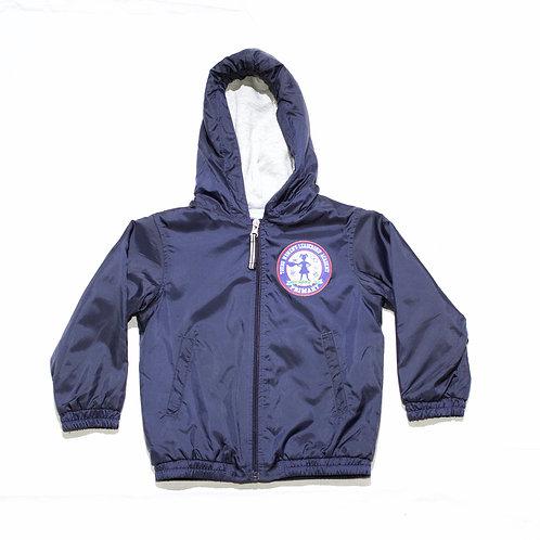 Navy Hooded Jacket (YWLA Primary)