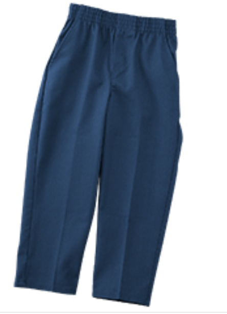 Navy Pull Up Pants (Toddlers)