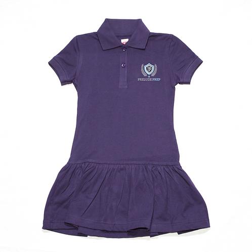 Navy Polo Play Dress (Prelude Prep)