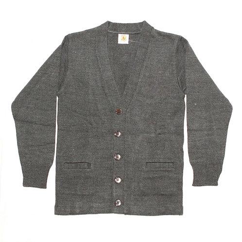 Grey Cardigan Sweater (without YMLA)