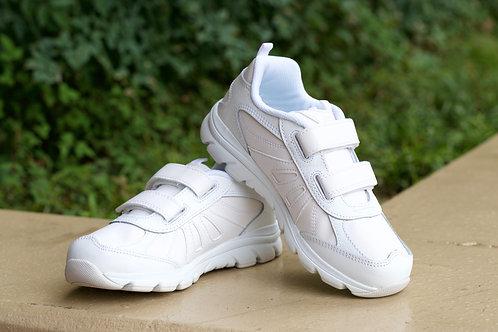 White Velcro Shoes
