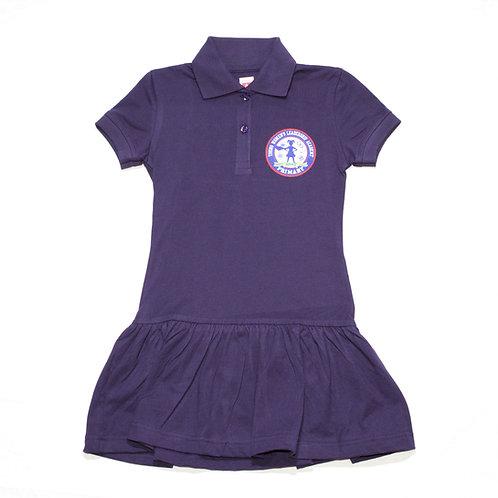 Navy Polo Play Dress (YWLA Primary)