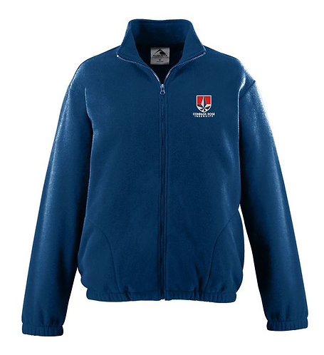 Navy Fleece Jacket - Ingenuity