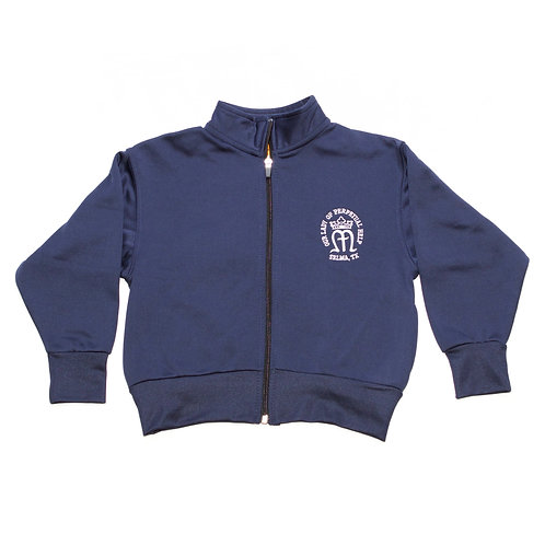 Navy Zip-Up Dry-Fit Jacket (OLPH)