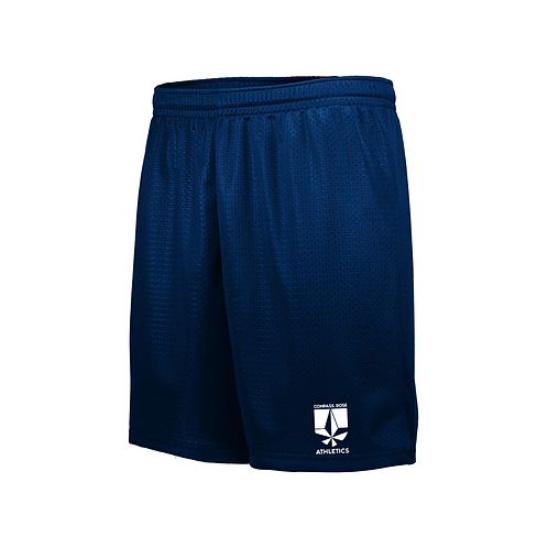 Navy Athletic Shorts (Compass Rose)