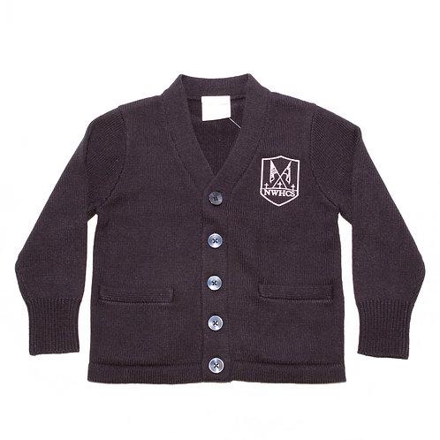Navy Cardigan Sweater (NWHCS)