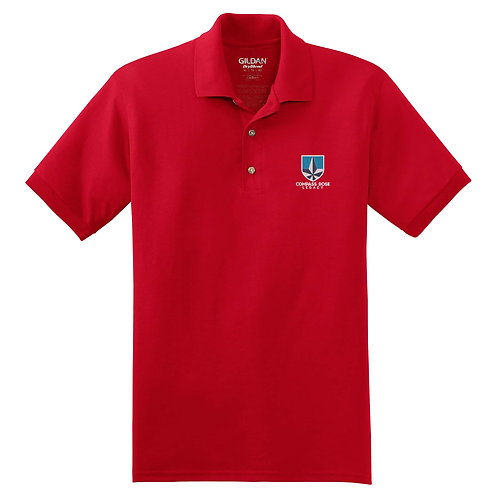 Red Compass Rose Legacy Polo