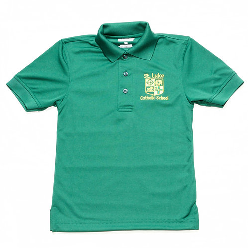 Green Dry-Fit Polo (St. Luke)