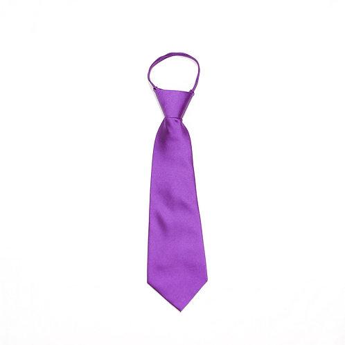 Boys' Purple Tie