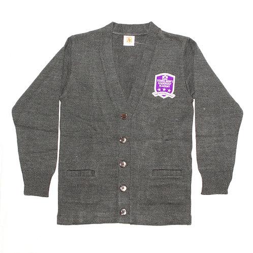Grey Cardigan Sweater (YMLA)