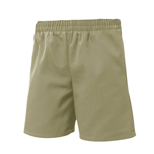 Twill Pull-On Shorts