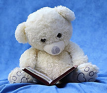 still_life_teddy_white_read_book_backgro
