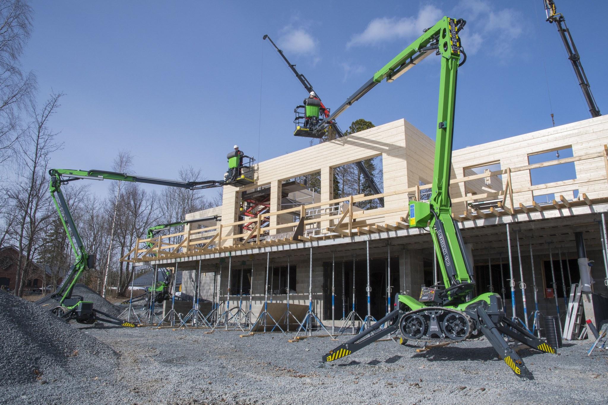 Legua L190 araignee chantier constructio