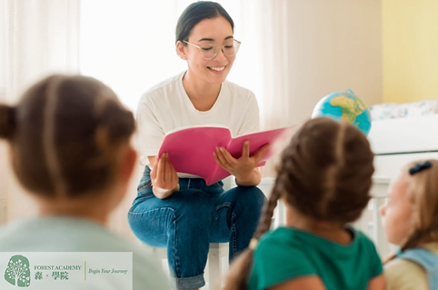 兒童心理學課程, 兒童說話技巧, Forest Academy -image08