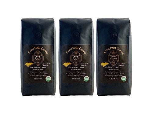 Kafie 1901 Coffee (Honduras)    Whole Bean (3 lb.)