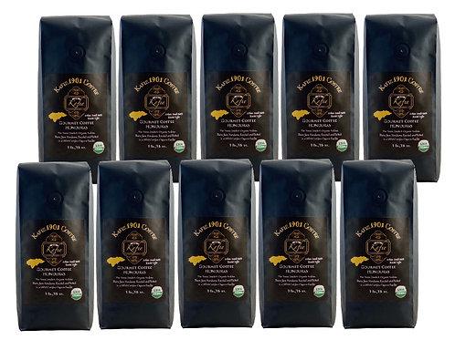 Kafie 1901 Coffee (Honduras)    Whole Bean (10 lb.)