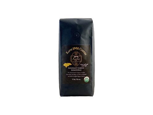 Kafie 1901 Coffee (Honduras)    Whole Bean (1 lb.)