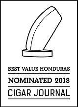 Cigar Journal, Best Value Honduras, 2018 Nomination