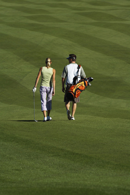 Golf Couple