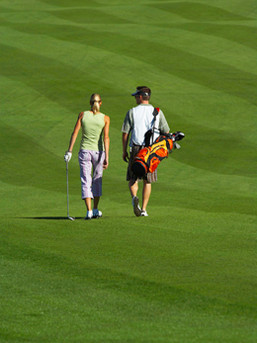 Golfing in North Carolina