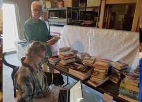 ELF Puts Books on the Shelf