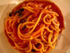 Great Bowls of Pasta: Scarpetta's Spaghetti with Fresh Tomato Sauce & Basil