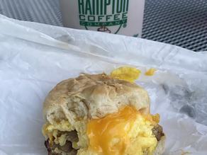Coffee Is Great, Breakfast Sammy Is Amazing