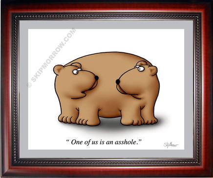 Bear Asshole