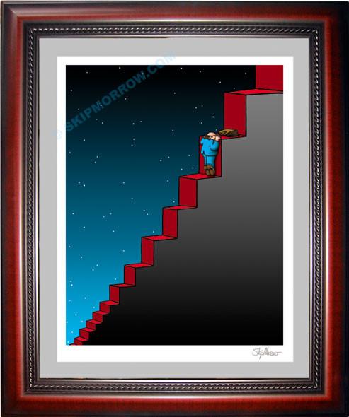 Escalating Steps
