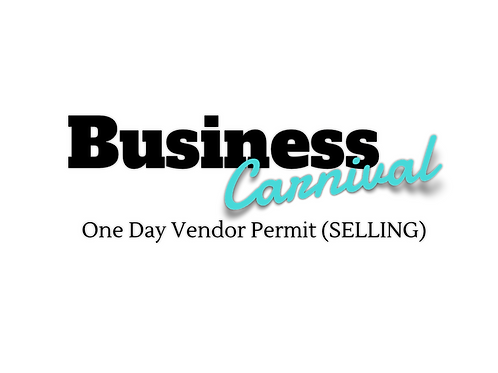 Early Bird One Day Vendor Permit (Selling)