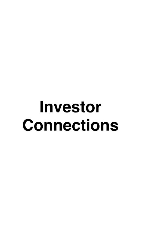 Investor Connections