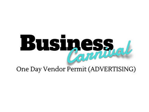 Early Bird One Day Vendor Permit (Advertising)